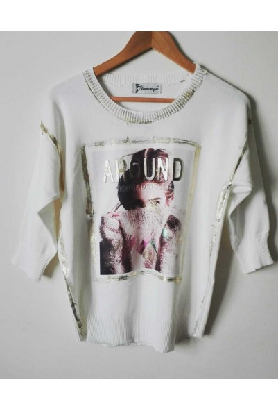 "Блуза ""AROUND"""
