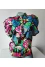 Риза с флорални мотиви