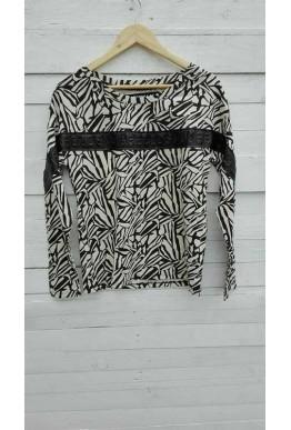 Блуза зебра
